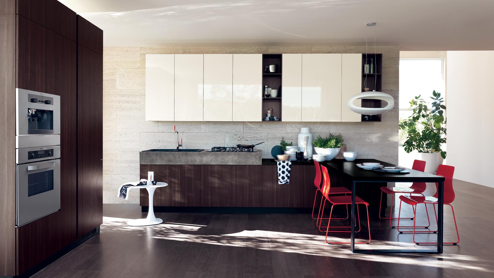 Credenza Moderna Scavolini : Cucine centro mobili andreozzi
