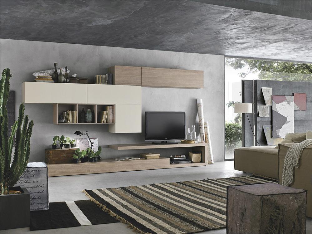 Maronese acf collezione seta centro mobili andreozzi for Mobili zona giorno moderni